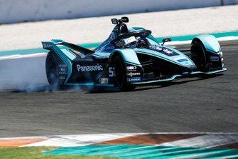 James Calado, Jaguar Racing, Jaguar I-Type 4, locks up