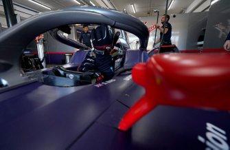 Sam Bird, Envision Virgin Racing, Audi e-tron FE06 in the garage