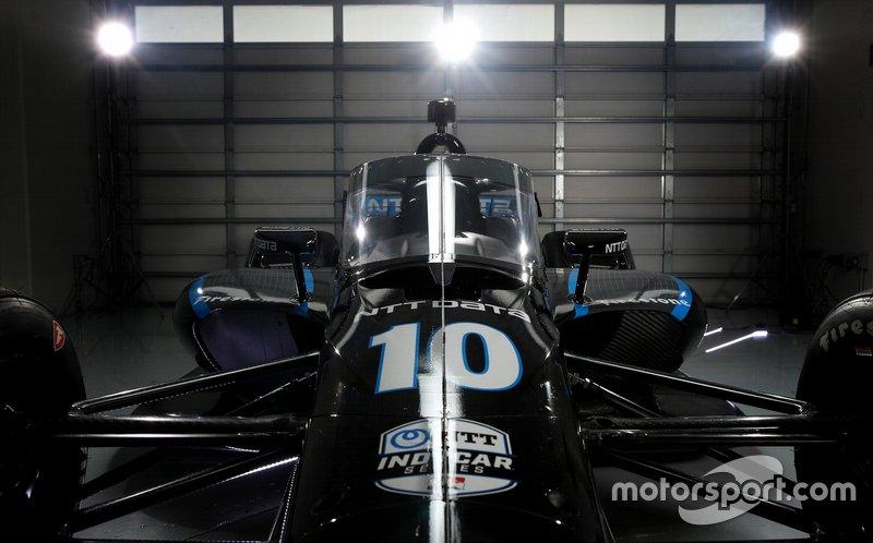 «Аэроскрин» на гоночном автомобиле IndyCar 2020 года