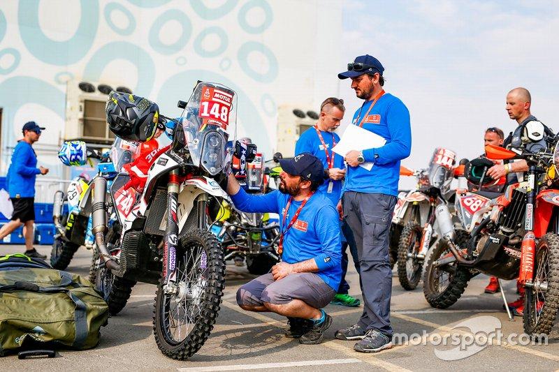 Odbiory administracyjne przed Rajdem Dakar 2020