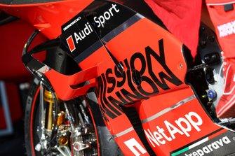 دراجة أندريا دوفيزيوزو، فريق دوكاتي