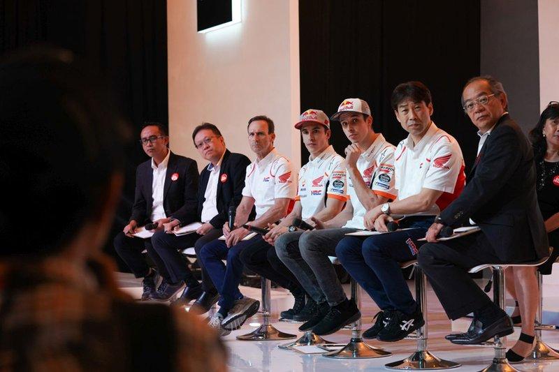 Présentation du Repsol Honda Team