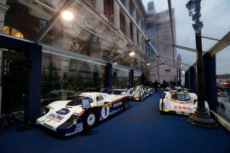 Porsche 956, Peugeot 905, Audi R18 e-tron quattro, Toyota TS050 Hybrid
