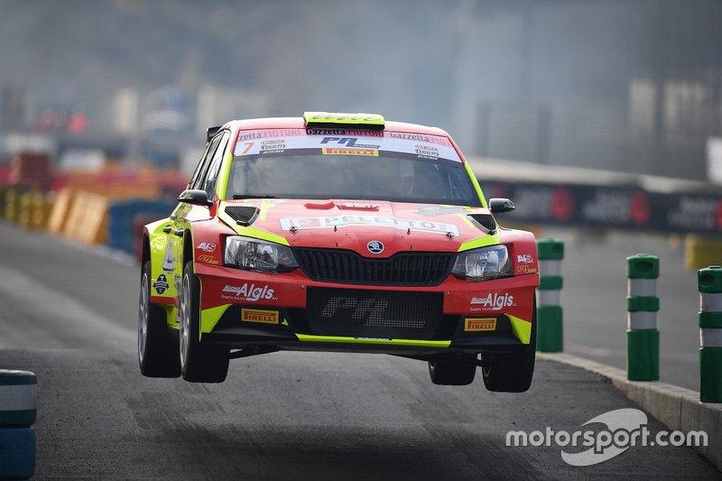 Davide Valsecchi, Denis Tarantello, Skoda Fabia R5, Peletto Racing Team