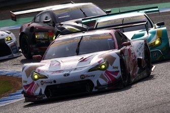 #25 Team Tsuchiya Toyota MC86: Takamitsu Matsui, Kimiya Sato