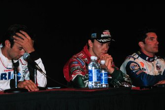 Press conference: Christian Fittipaldi, Adrián Fernández, Max Papis