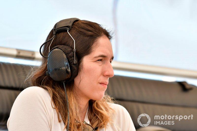#57 Heinricher Racing w/Meyer Shank Racing Acura NSX GT3, GTD: Bia Figueiredo