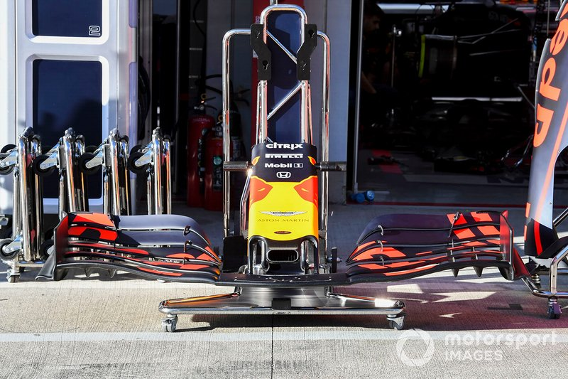 Alerón delantero de Red Bull RB15