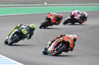 Pol Espargaro, Red Bull KTM Factory Racing, Valentino Rossi, Yamaha Factory Racing, Mika Kallio, Red Bull KTM Factory Racing, Francesco Bagnaia, Pramac Racing