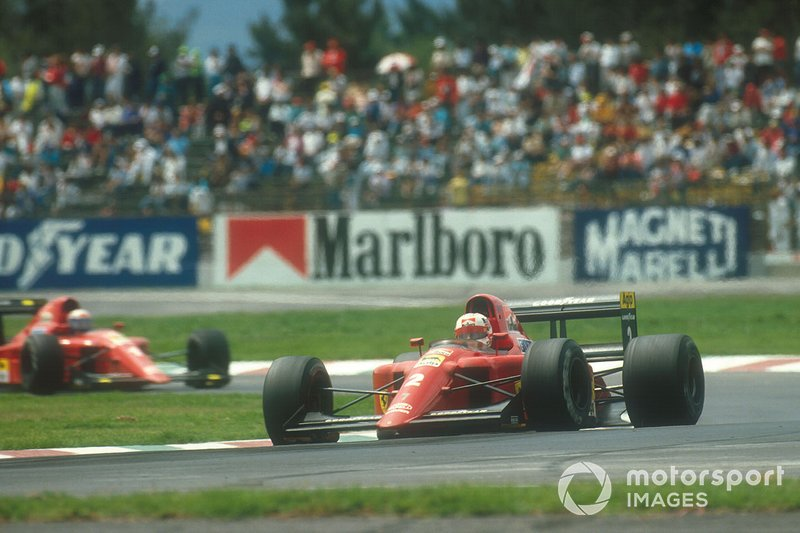 Nigel Mansell, Ferrari, Alain Prost, Ferrari