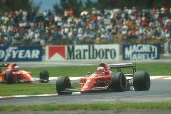 Nigel Mansell, Ferrari, Alain Prost, Ferrari al GP del Messico del 1990