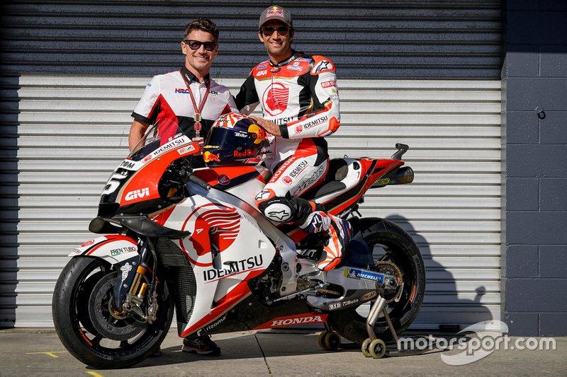 Lucio Cecchinello and Johann Zarco, LCR Honda