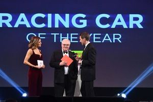 Patrick Head on stage to present the Racing Car of the Year Award