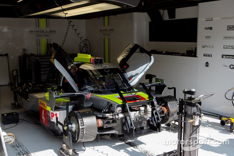 Автомобиль ENSO CLM P1/01 (№4) команды ByKolles Racing Team