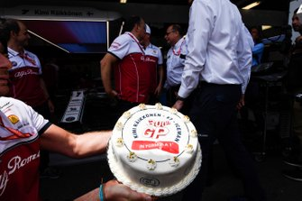 Pastel para Kimi Raikkonen, Alfa Romeo Racing 300 GP