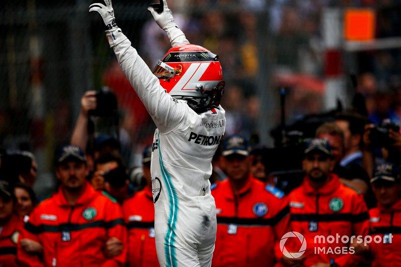 77 - GP de Mônaco 2019, Mercedes