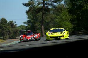 #57 Car Guy Racing Ferrari 488 GTE: Takeshi Kimura, Kei Francesco Cozzolino, Come Ledogar, #31 Dragonspeed Oreca 07: Roberto Gonzalez, Pastor Maldonado, Anthony Davidson