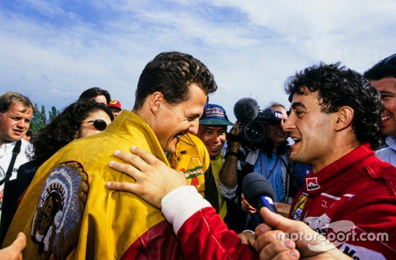 Michael Schumacher, Benetton ve Jean Alesi, Ferrari