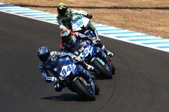 Corentin Perolari, Isaac Vinales e Peter Sebestyen, SSP Hungary Racing