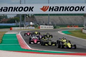Renn-Action der W-Series in Misano