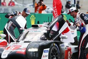 #8 Toyota Gazoo Racing Toyota TS050: Sébastien Buemi, Kazuki Nakajima, Fernando Alonso win the Le Mans 24 Hours and the FIA World Endurance Championship Super Season 2018 / 2019