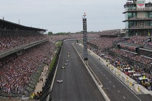 Renn-Action beim Indy 500
