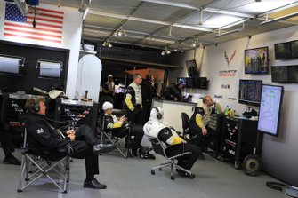 Corvette Racing atmosfera in garage