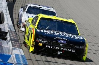 Paul Menard, Team Penske, Ford Mustang Menards/Richmond and Cole Custer, Stewart-Haas Racing, Ford Mustang Jacob Companies