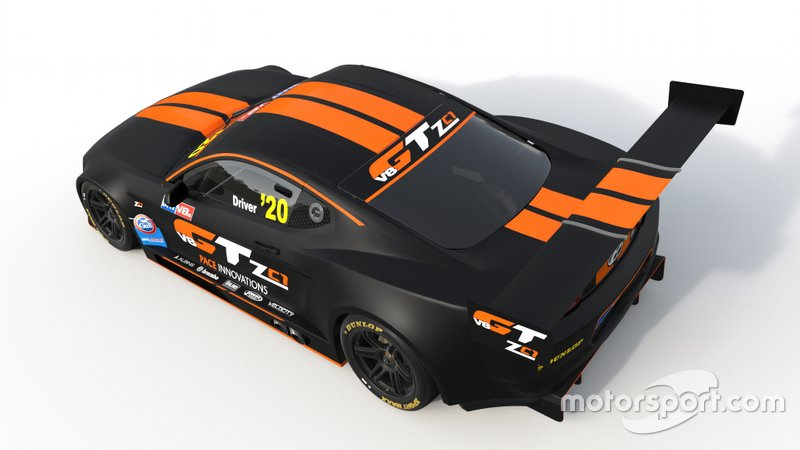 Pace V8GT ZC1 New Zealand V8s car
