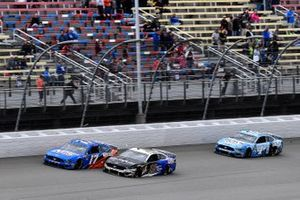 Ricky Stenhouse Jr., Roush Fenway Racing, Ford Mustang NOS Energy, Aric Almirola, Stewart-Haas Racing, Ford Mustang Smithfield / Meijer, and Kevin Harvick, Stewart-Haas Racing, Ford Mustang Busch Light