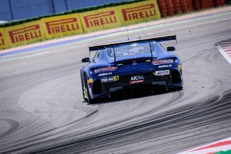 #87 Akka ASP Team Mercedes-AMG GT3: Mauro Ricci, Jim Pla