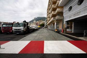 New run-off area at the exit of the chicane