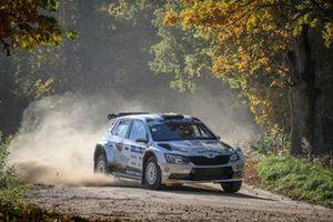 Filip Mares, Jan Hlousek, skoda Fabia R5, Rally Liepaja, FIA ERC