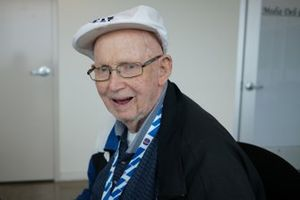 Legendary photographer and pace car accident victim Russ Lake