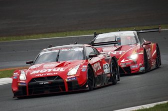 #23 Nismo Nissan GT-R: Tsugio Matsuda, Ronnie Quintarelli, #38 Team Zent Cerumo Lexus LC500: Hiroaki Ishiura, Yuji Tachikawa