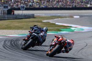 Maverick Vinales, Yamaha Factory Racing, Fabio Quartararo, Petronas Yamaha SRT, Marc Marquez, Repsol Honda Team