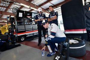 Brad Keselowski, Team Penske, mit Paul Wolfe