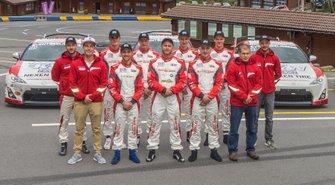 Les pilotes du Championnat Junior de la Montagne 2019