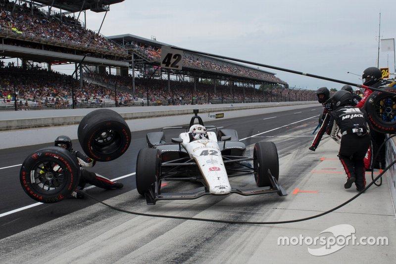 Ongeluk van Jordan King, Rahal Letterman Lanigan Racing Honda