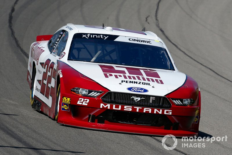 Austin Cindric, Team Penske, Ford Mustang LTi Printing