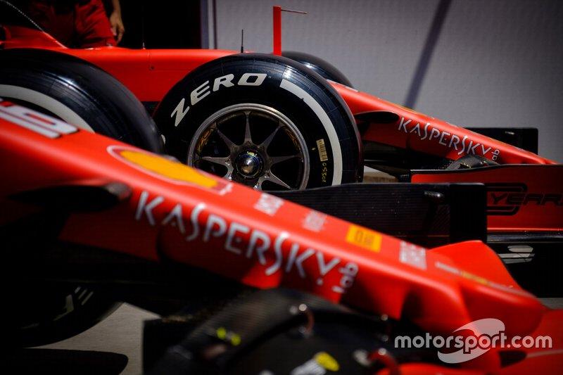 Ferrari SF90 dettaglio della ruota