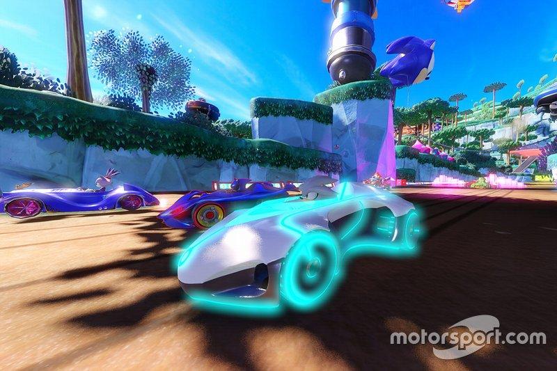 Captura del Team Sonic Racing
