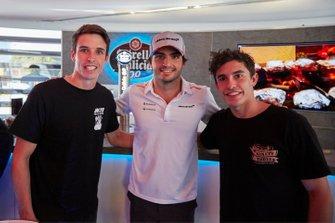 Alex Marquez, Carlos Sainz Jr., McLaren, and Marc Marquez