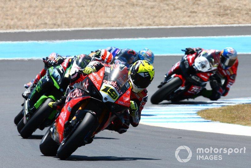 Alvaro Bautista, Aruba.it Racing-Ducati Team, Jonathan Rea, Kawasaki Racing