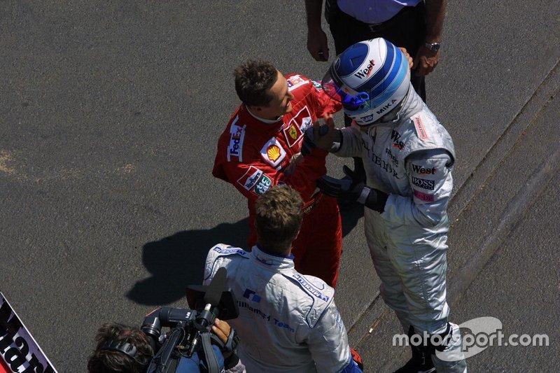 Ralf Schumacher, Michael Schumacher, Mika Hakkinen