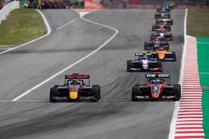 Juri Vips, Hitech Grand Prix and Simo Laaksonen, MP Motorsport