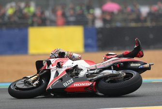 Takaaki Nakagami, Team LCR Honda crash