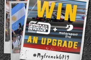 Concurso de actualización de Motorsport Live