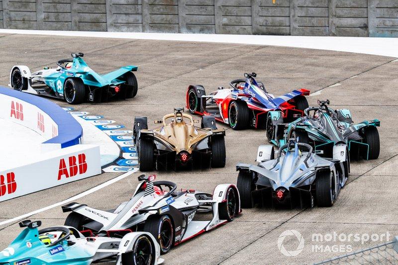 Oliver Turvey, NIO Formula E Team, NIO Sport 004, Jérôme d'Ambrosio, Mahindra Racing, M5 Electro