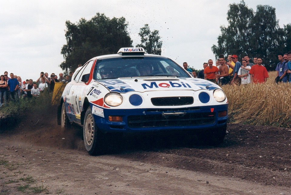 Marek Gieruszczak, Artur Skorupa, Toyota Celica GT-Four (ST205)